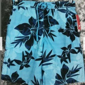 Mens S Speedo floral board shorts swimsuit new
